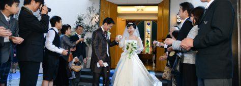 家族14人だからこそキチンと結婚式。