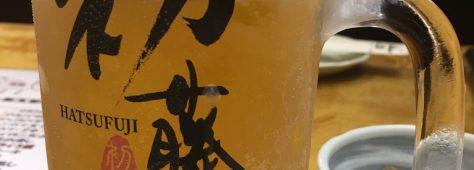 合羽橋でダッシュのご褒美ビール