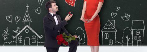プロポーズのシンプルな言葉が女子の心を掴むんだな。