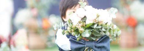 小さな頃に花嫁さんを見る機会。