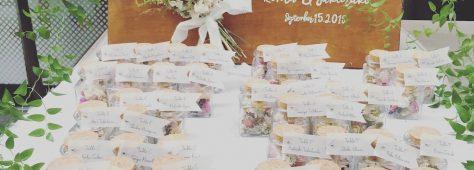 昨年、友達の中で最初の結婚式です!を2回ほど担当させていただきました。