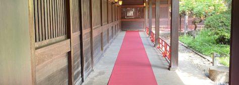 コロナ後初の婚礼サポート(神社ディレクションチーム)