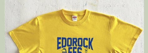 エドロックTシャツ加盟店になりました!!