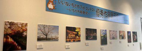 いいねいちかわフォトコンテスト作品受賞作品展示が始まりました!