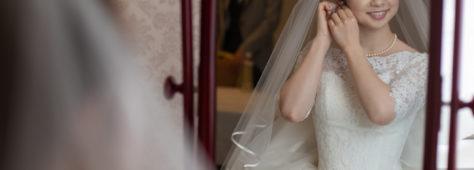 ショートヘアの花嫁さんってめっちゃ可愛いんですよ。